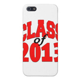 Class of 2013 (red) iPhone SE/5/5s cover