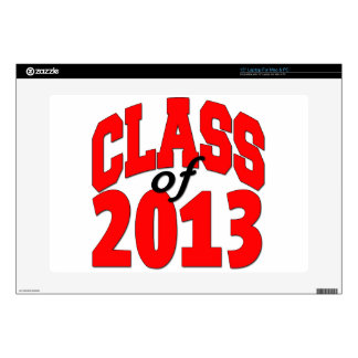 """Class of 2013 (red) skins for 15"""" laptops"""