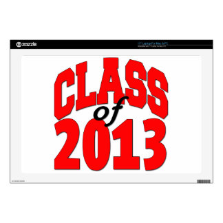 Class of 2013 (red) skins for laptops