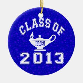 Class Of 2013 RN Ceramic Ornament