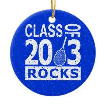 Class Of 2013 Rocks Ceramic Ornament