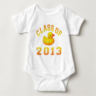 Class Of 2013 Rubber Duckie -Orange Baby Bodysuit