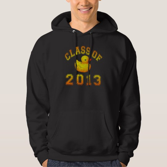 Class Of 2013 Rubber Duckie - Yellow/Orange Hoodie