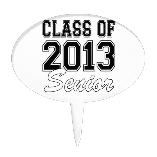 Class of 2013 Senior Cake Topper