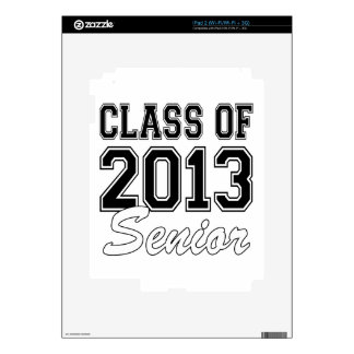 Class of 2013 Senior Decal For The iPad 2