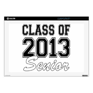 """Class of 2013 Senior Decals For 17"""" Laptops"""