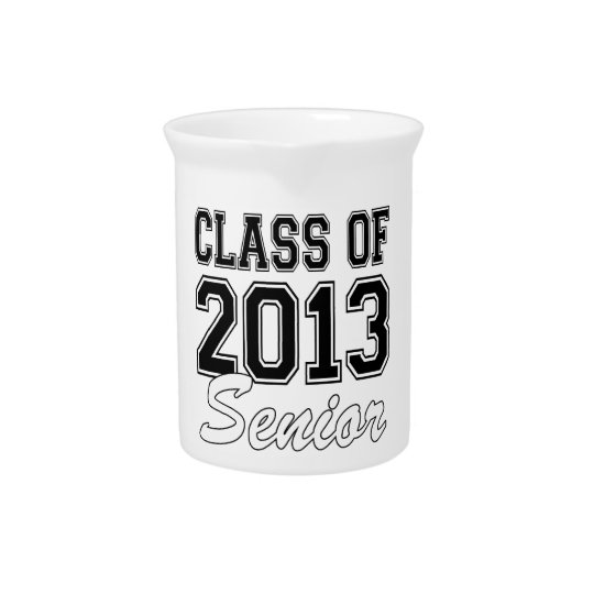 Class of 2013 Senior Drink Pitcher
