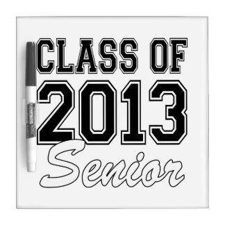 Class of 2013 Senior Dry Erase Board