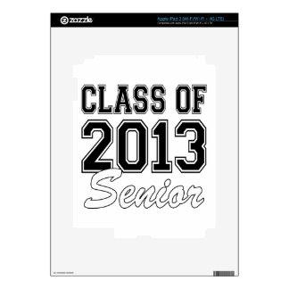 Class of 2013 Senior Skin For iPad 3