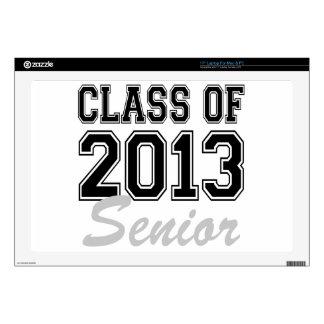 """Class of 2013 Senior Skins For 17"""" Laptops"""