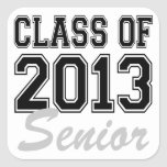 Class of 2013 Senior Square Sticker
