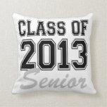 Class of 2013 Senior Throw Pillows