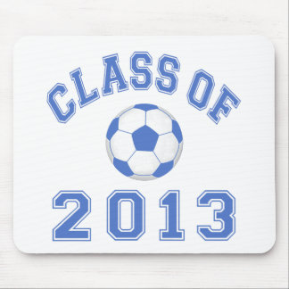Class Of 2013 Soccer  Blue/White 2 Mouse Pad