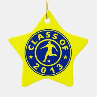 Class Of 2013 Soccer Ceramic Ornament