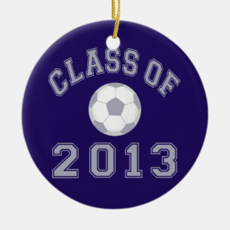 Class Of 2013 Soccer - Grey 2 Ornament