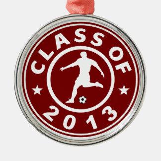 Class Of 2013 Soccer Metal Ornament