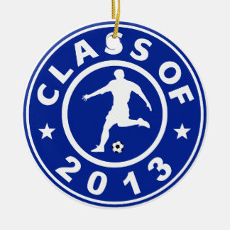 Class Of 2013 Soccer Christmas Ornaments