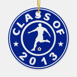 Class Of 2013 Soccer Christmas Tree Ornaments
