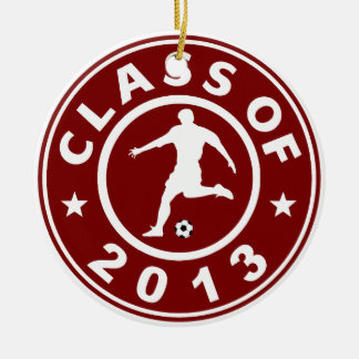 Class Of 2013 Soccer Ornaments