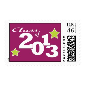 Class of 2013 stamp