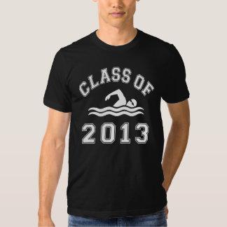 Class Of 2013 Swimming T Shirt