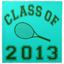 Class Of 2013 Tennis Cloth Napkin