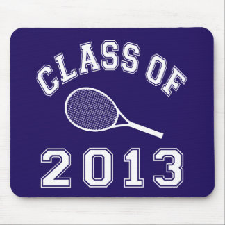 Class Of 2013 Tennis Mouse Pad