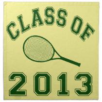 Class Of 2013 Tennis Napkin