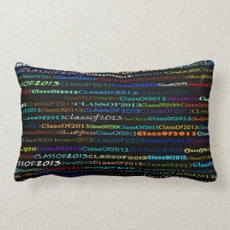 Class Of 2013 Text Design I Lumbar Pillow