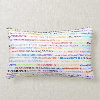 Class Of 2013 Text Design II Lumbar Pillow