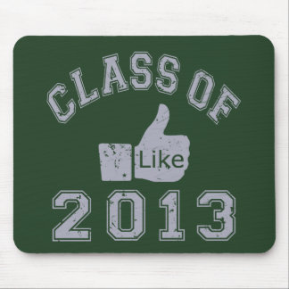 Class Of 2013 Thumbs Up Mouse Pad