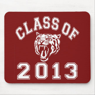Class Of 2013 Tiger Mouse Pad