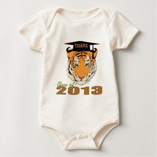 Class of 2013 Tigers Graduation Baby Bodysuit