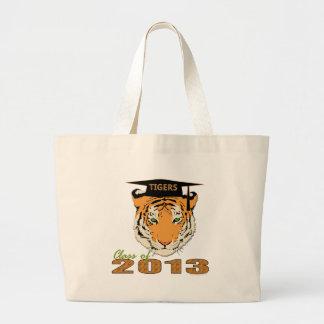 Class of 2013 Tigers Graduation Jumbo Tote Bag