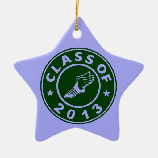 Class Of 2013 Track and Field Ornament