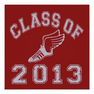 Class Of 2013 Track & Field - Grey 2 Card