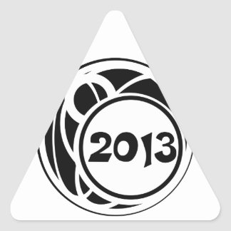 Class Of 2013 Tribal Graduation Stickers