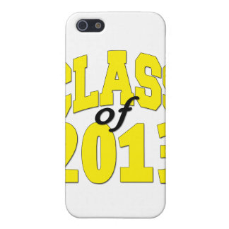 Class of 2013 Yellow Cover For iPhone SE/5/5s