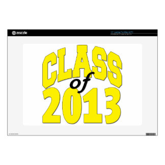 Class of 2013 Yellow Decals For Laptops