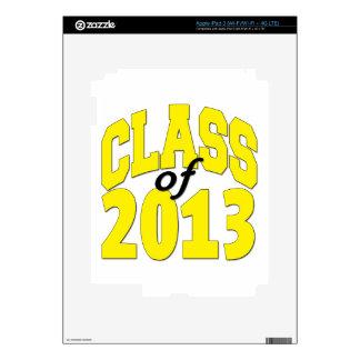 Class of 2013 Yellow iPad 3 Skin
