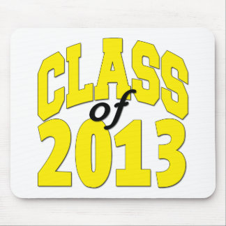 Class of 2013 Yellow Mouse Pad