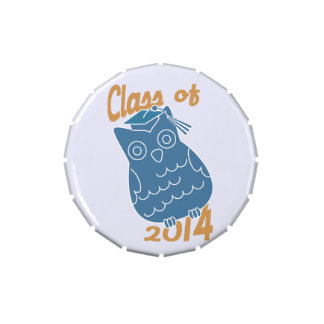 Class of 2014 Academic Owl Jelly Belly Tin