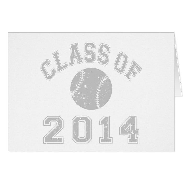 Class Of 2014 Baseball Card