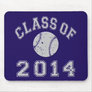 Class Of 2014 Baseball Mouse Pad