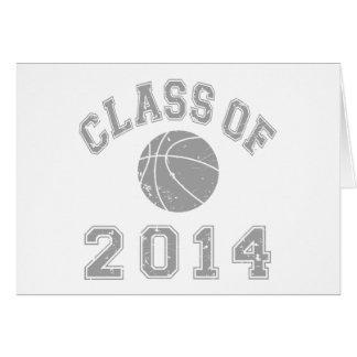 Class Of 2014 Basketball - Grey 2 Card