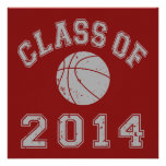 Class Of 2014 Basketball - Grey 2 Custom Announcement