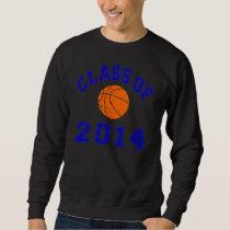 Class Of 2014 Basketball - Orange/Navy 2 Sweatshirt