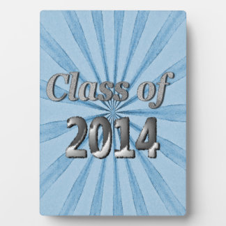 Class of 2014 Blue and Silver Photo Plaques