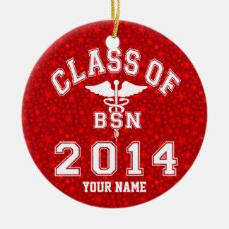 Class Of 2014 BSN Ceramic Ornament