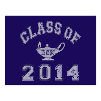 Class Of 2014 BSN - Grey 2 Postcard